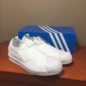 NWT- Adidas Superstar Slip-On Sneakers